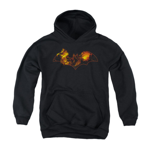 Image for Batman Youth Hoodie - Molten Logo