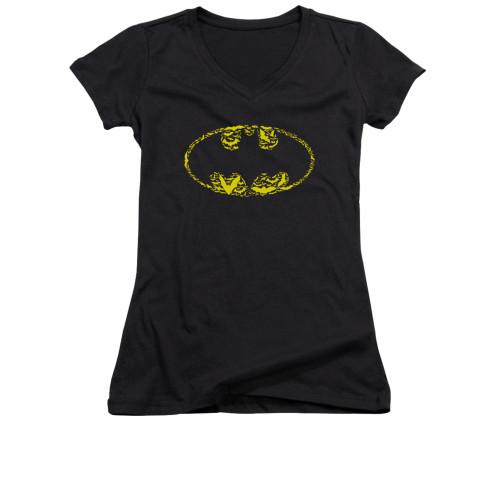 Image for Batman Girls V Neck - Bats On Bats