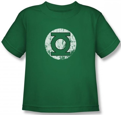 Image for Green Lantern Distressed Lantern Logo Kid's T-Shirt