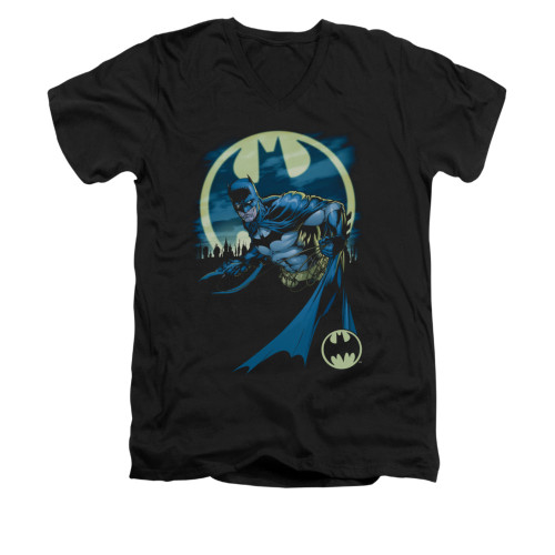 Image for Batman V Neck T-Shirt - Heed The Call
