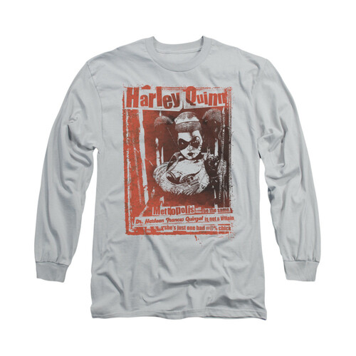 Image for Batman Long Sleeve Shirt -  Dr Quinn