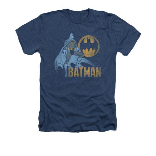 Image for Batman Heather T-Shirt - Knight Watch