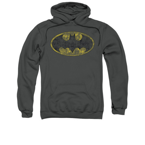 Image for Batman Hoodie - Tattered Logo