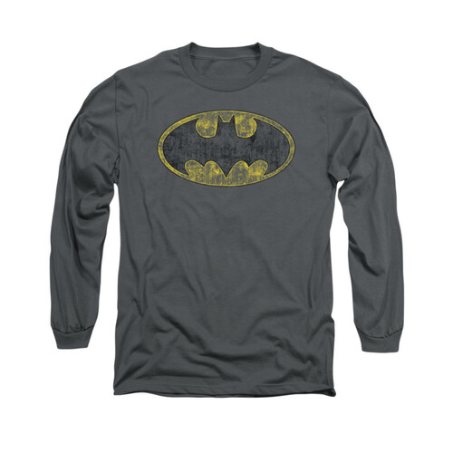 Image for Batman Long Sleeve Shirt - Tattered Logo
