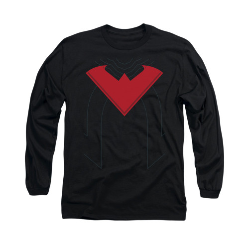 Image for Batman Long Sleeve Shirt - Nightwing Uniform 52