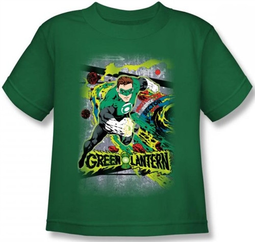 Image for Green Lantern Space Sector 2814 Kid's T-Shirt