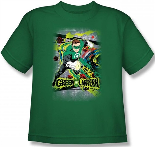 Image for Green Lantern Space Sector 2814 Youth T-Shirt