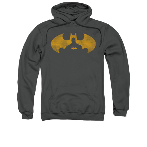 Image for Batman Hoodie - Bat Symbol Knockout