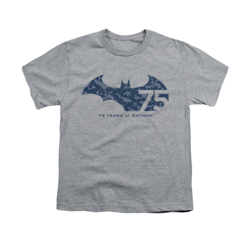 Image for Batman Youth T-Shirt - 75 Year Collage