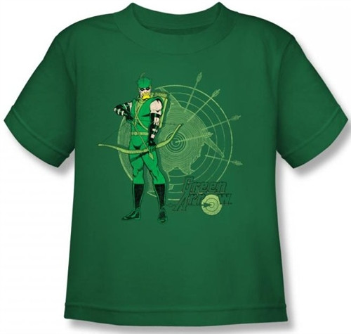 Image for Green Arrow Target Kid's T-Shirt