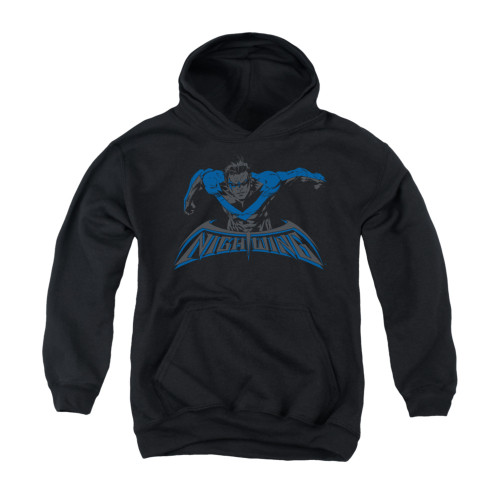 Image for Batman Youth Hoodie - Wing Of The Night