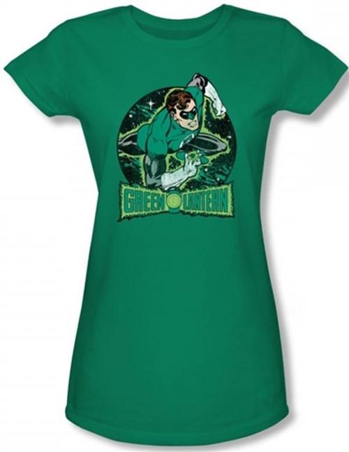 Image for Green Lantern In the Spotlight Girls Shirt