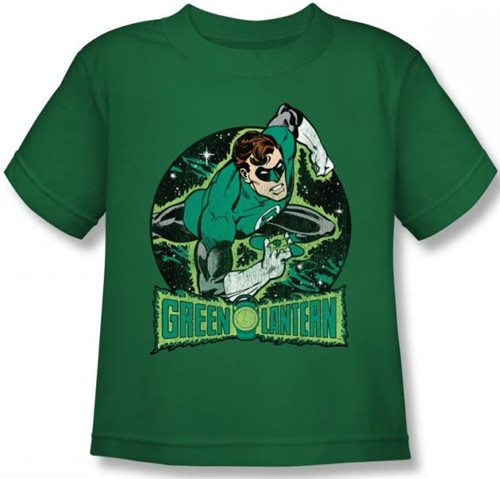 Image for Green Lantern In the Spotlight Kid's T-Shirt