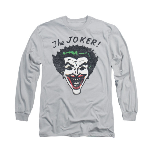 Image for Batman Long Sleeve Shirt - Retro Joker