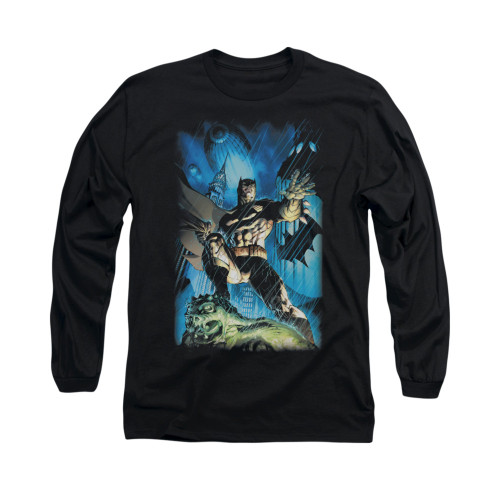 Image for Batman Long Sleeve Shirt - Stormy Dark Knight