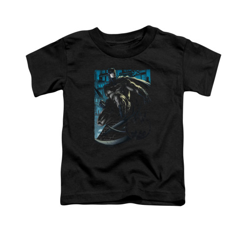 Image for Batman Toddler T-Shirt - Knight Falls In Gotham