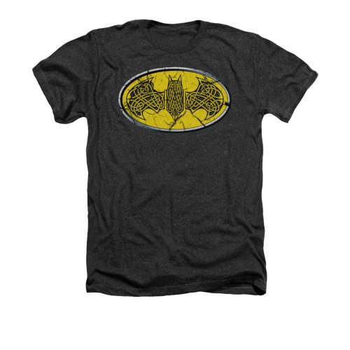 Image for Batman Heather T-Shirt - Celtic Shield