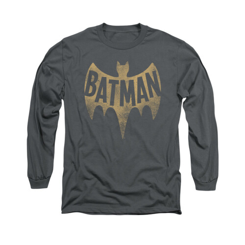 Image for Batman Classic TV Long Sleeve Shirt - Vintage Logo
