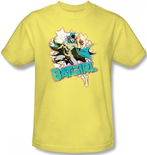 Image for Batgirl Stars T-Shirt