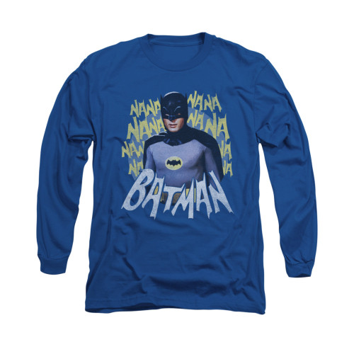 Image Closeup for Batman Classic TV Long Sleeve Shirt - Theme Song