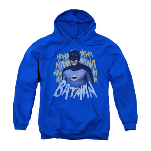 Image Closeup for Batman Classic TV Youth Hoodie - Theme Song
