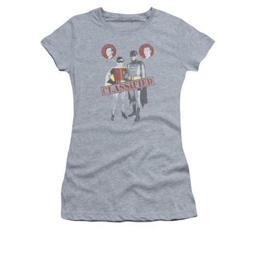 Image Closeup for Batman Classic TV Girls T-Shirt - Classified