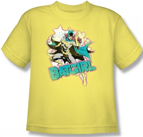 Image for Batgirl Stars Youth T-Shirt
