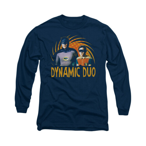 Image Closeup for Batman Classic TV Long Sleeve Shirt - Dynamic