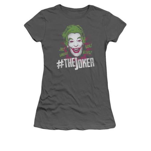 Image Closeup for Batman Classic TV Girls T-Shirt - #joker