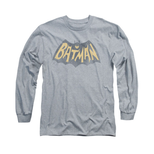Image Closeup for Batman Classic TV Long Sleeve Shirt - Show Logo