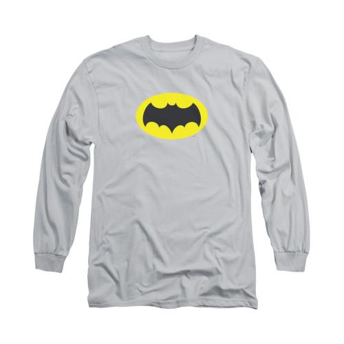 Image Closeup for Batman Classic TV Long Sleeve Shirt - Chest Logo