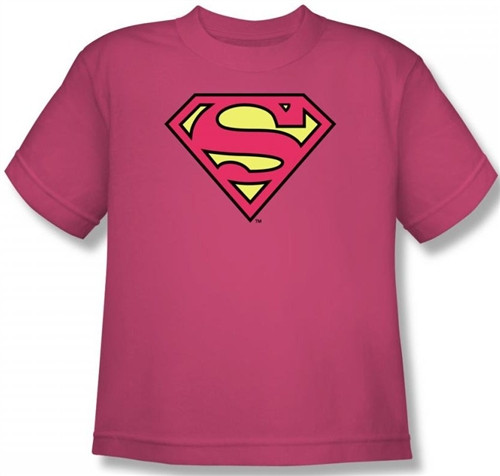 Image for Supergirl Classic Logo Youth T-Shirt