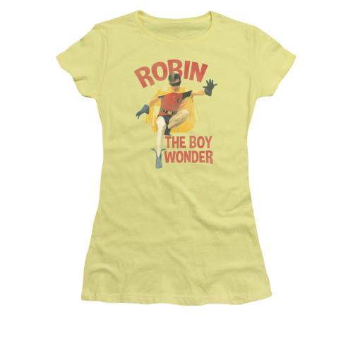 Image Closeup for Batman Classic TV Girls T-Shirt - Boy Wonder