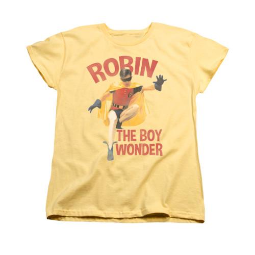 Image Closeup for Batman Classic TV Womans T-Shirt - Boy Wonder