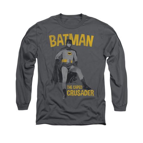 Image Closeup for Batman Classic TV Long Sleeve Shirt - Caped Crusader