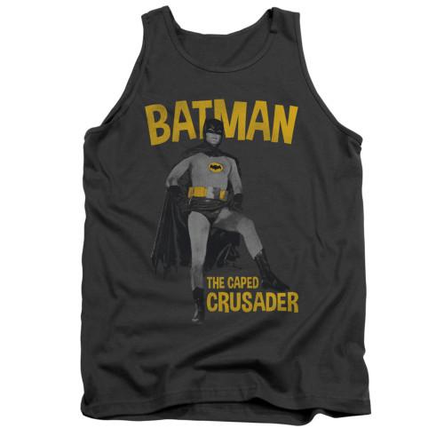 Image Closeup for Batman Classic TV Tank Top - Caped Crusader