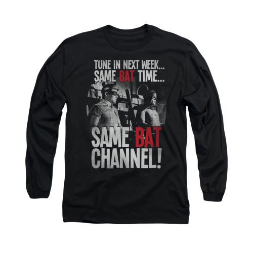 Image Closeup for Batman Classic TV Long Sleeve Shirt - Bat Channel