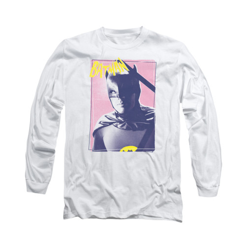 Image Closeup for Batman Classic TV Long Sleeve Shirt - Wayne 80's