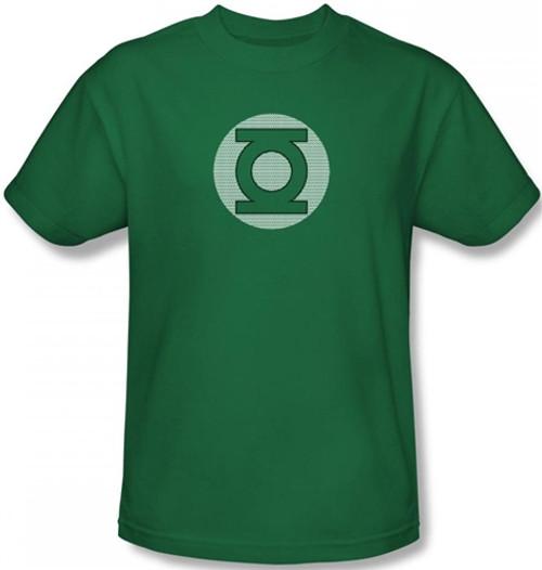 Image Closeup for Green Lantern Little Logos T-Shirt