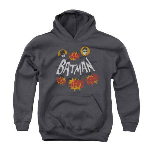 Image Closeup for Batman Classic TV Youth Hoodie - Sound Effects