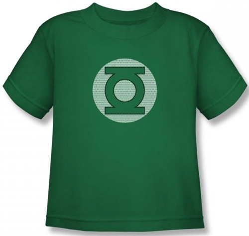 Image for Green Lantern Little Logos Kid's T-Shirt