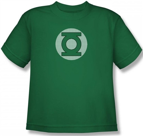 Image for Green Lantern Little Logos Youth T-Shirt