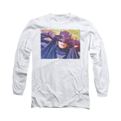 Image Closeup for Batman Classic TV Long Sleeve Shirt - Smooth Groove