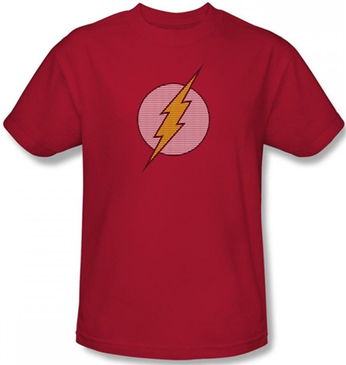 Image Closeup for Flash Little Logos T-Shirt