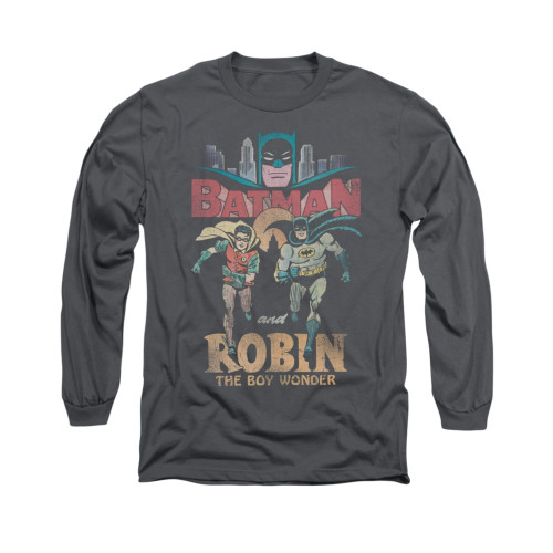 Image for Batman Classic TV Long Sleeve Shirt - Classic Duo