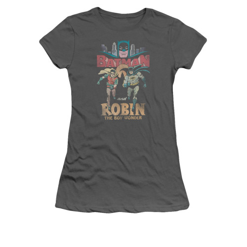 Image for Batman Classic TV Girls T-Shirt - Classic Duo