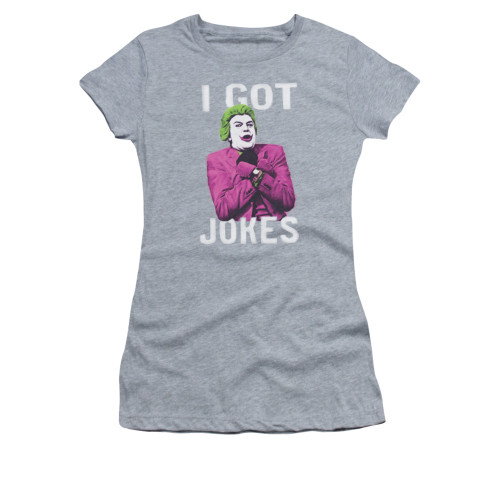 Image for Batman Classic TV Girls T-Shirt - Got Jokes