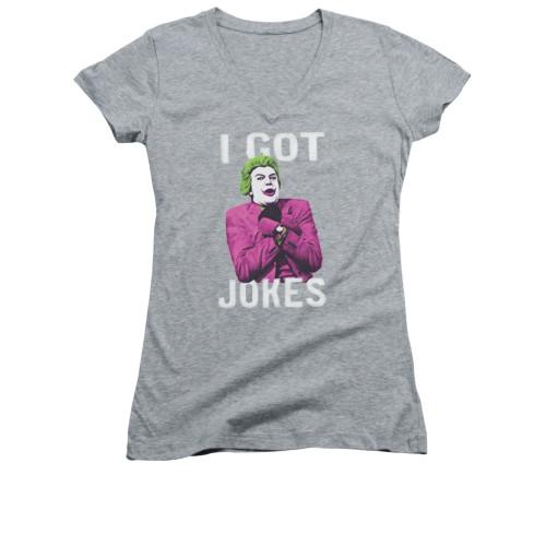 Image for Batman Classic TV Girls V Neck - Got Jokes