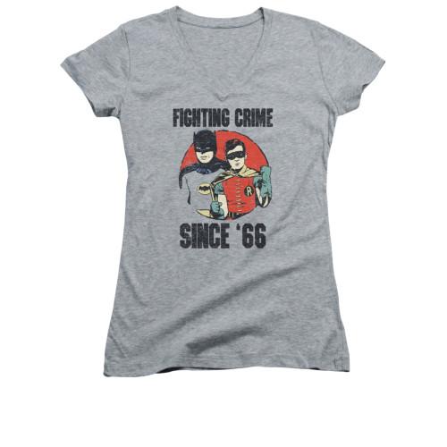 Image for Batman Classic TV Girls V Neck - Since 66