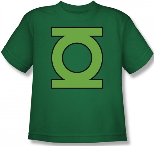 Image for Green Lantern GL Emblem Youth T-Shirt